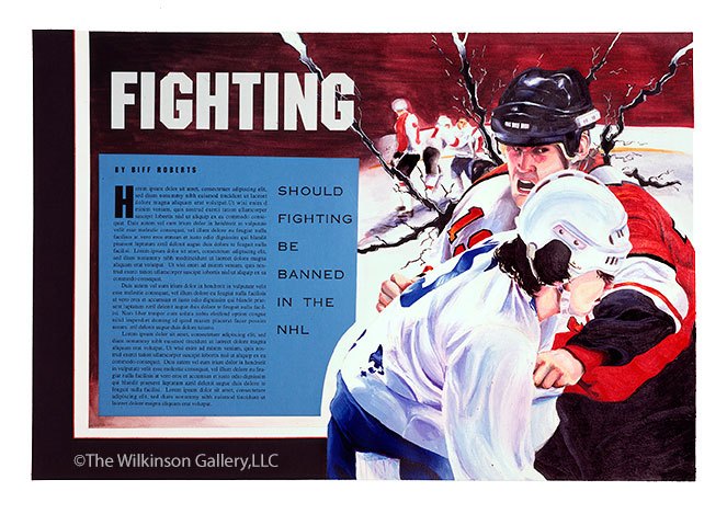 Fighting-In-The-NHL