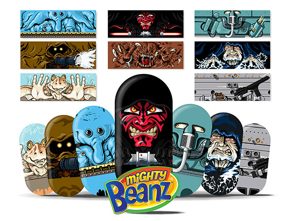 David E. Wilkinson's Star Wars Mighty Beanz