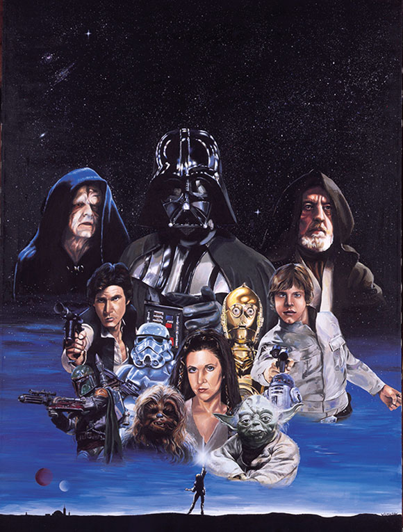 Star Wars Trilogy by David E. Wilkinson