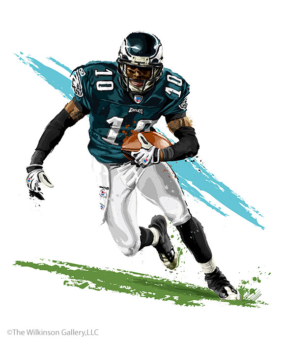 Philadelphia Eagles' DeSean Jackson by David E. Wilkinson