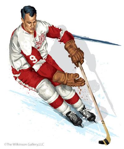 """Mr. Hockey"" by David E. Wilklinson"