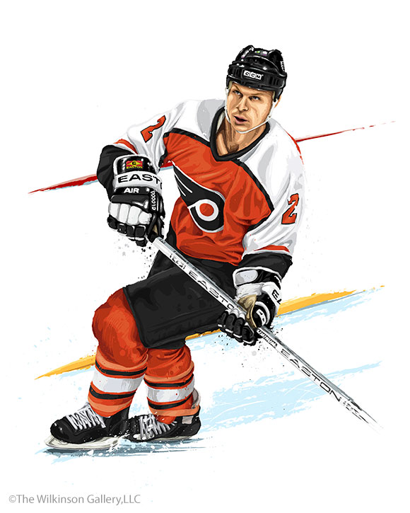 Mark Howe by David E. Wilkinson