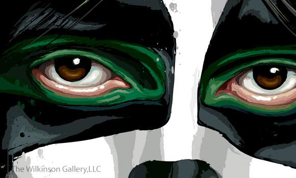 Peter_Criss_tKISS Peter Criss Art [detail] by David E. Wilkinsonn