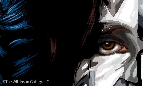 Tommy_ThayKISS Tommy Thayer Art by David E. Wilkinsoner_tn