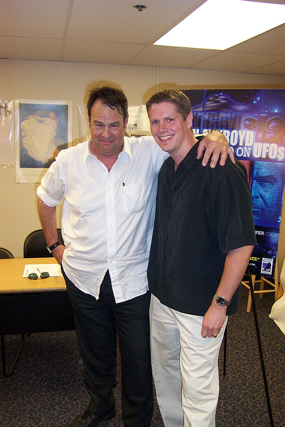 Actor Dan Aykroyd