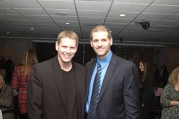 Year: 2008 Event: Ron Hextall Hall of Fame Night pre-game dinner party