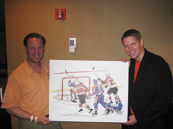 Flyers Legend Brian Propp