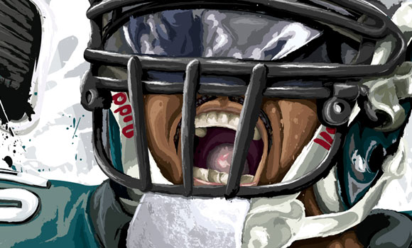 Brian Dawkins Brian Dawkins [detail view] by David E. Wilkinsonby David E. Wilkinson