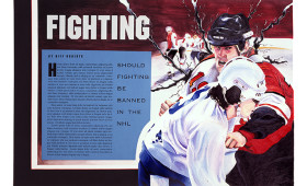 Fighting in the NHL