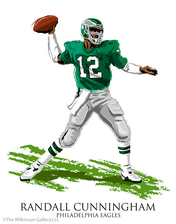 Randall Cunningham by David E. Wilkinson