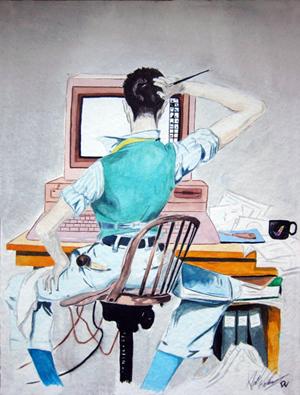 Art School Watercolor Project (2000)