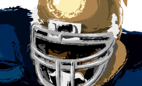 Notre Dame's Jerome Bettis