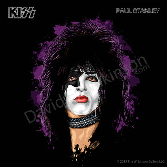 Vintage Paul Stanley Art