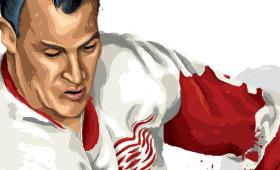 """""""Mr. Hockey"""" Gordie Howe"""