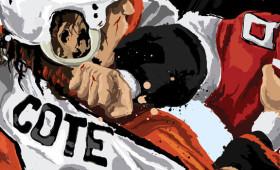 Flyers Enforcer Riley Cote